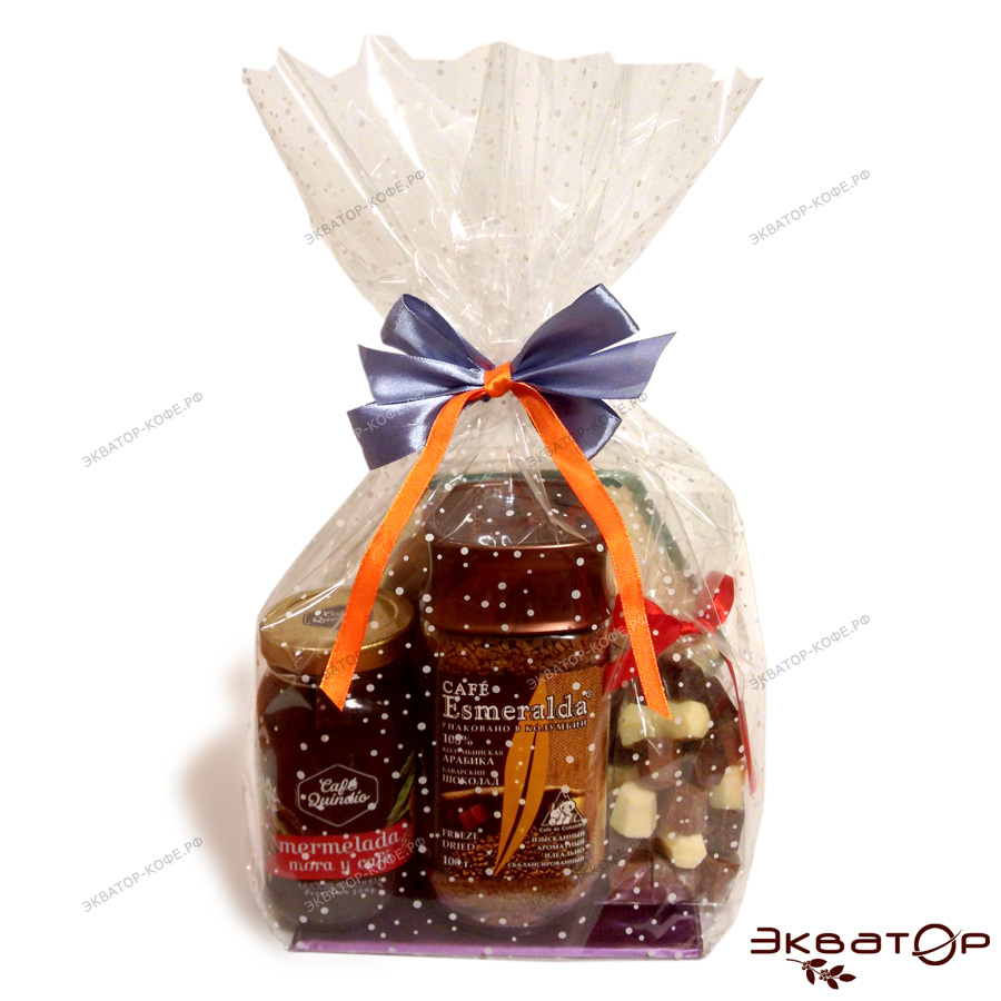 Шоколад и мармелад в подарок